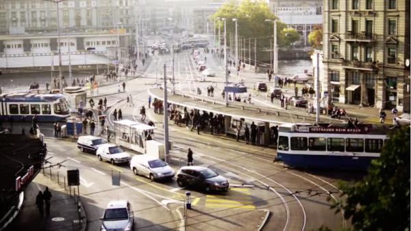 Forward – a Zurich timelapse